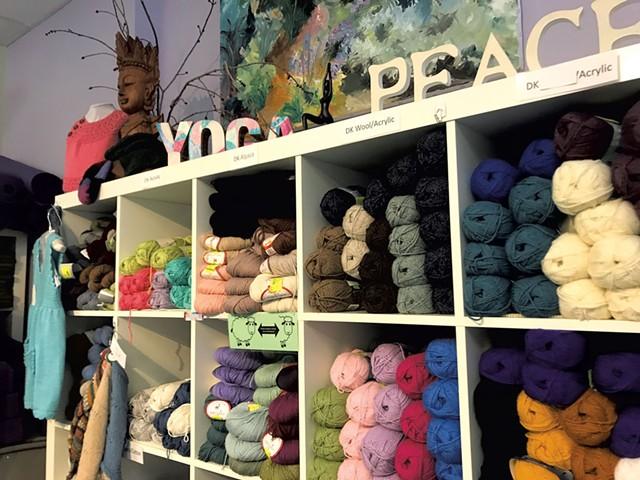 Yarn & Yoga in Bristol - CHELSEA EDGAR ©️ SEVEN DAYS