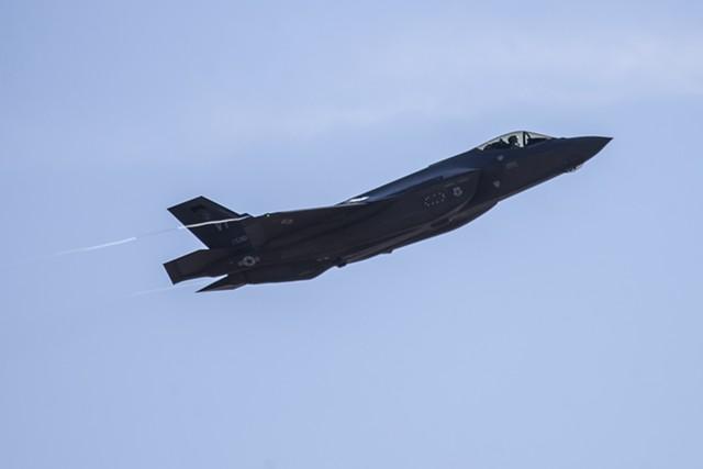 The F-35 - JAMES BUCK