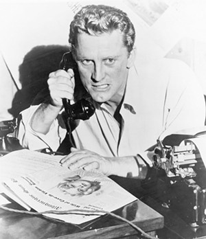 Kirk Douglas in Ace in the Hole (aka The Big Carnival) - COURTESY