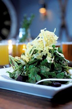 Watercress salad - JEB WALLACE-BRODEUR