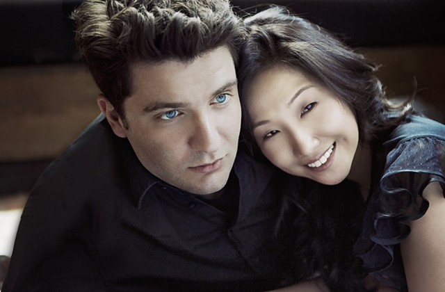 Alessio Bax and Lucille Chung - COURTESY OF LISA-MARIE MAZZUCCO