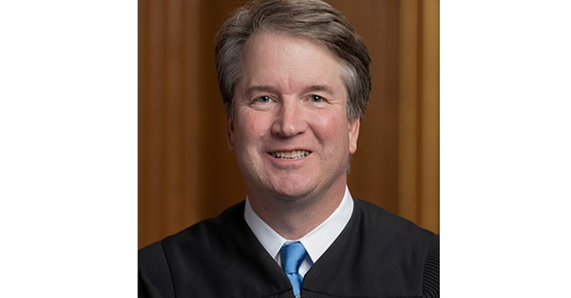 Justice Brett Kavanaugh - U.S. SUPREME COURT ©️ SEVEN DAYS