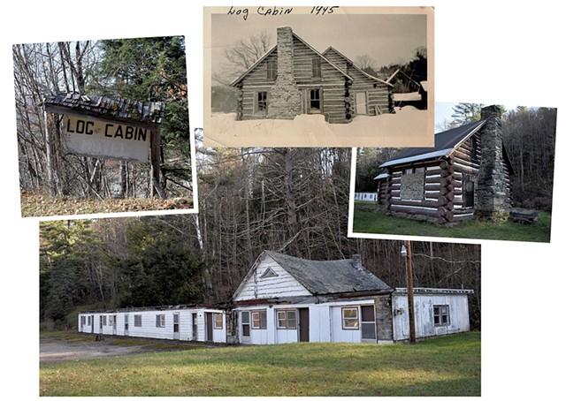 Log Cabin Motel in Stockbridge - PHOTOS COURTESY OF DEBORAH JOHNSON-SURWILO