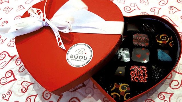 COURTESY OF BIJOU FINE CHOCOLATE