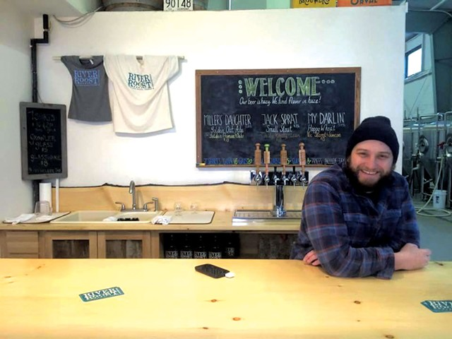 River Roost Brewery's Mark Babson - COURTESY OF RIVER ROOST BREWERY