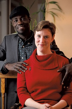 Ali Dieng and Angela Smith-Dieng - MATTHEW THORSEN