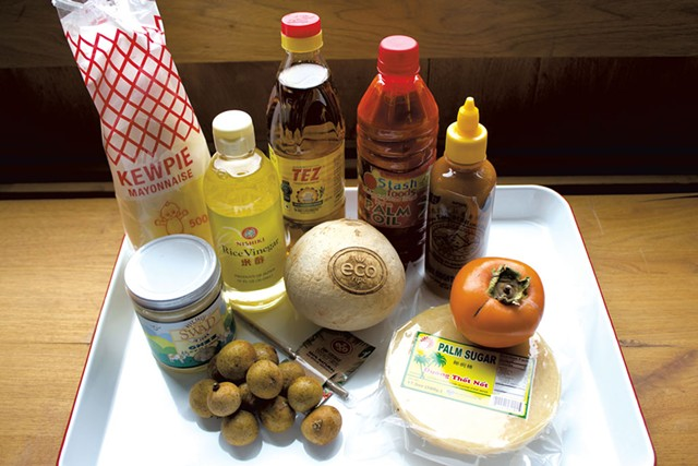 Global pantry items from Asian Mart - MELISSA PASANEN