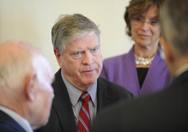 Senate President Pro Tempore John Campbell - FILE: JEB WALLACE-BRODEUR