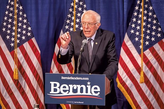 Sen. Bernie Sanders - FILE: LUKE AWTRY