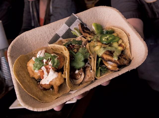 Tacos at Mojo Café - FILE: TOM MCNEILL