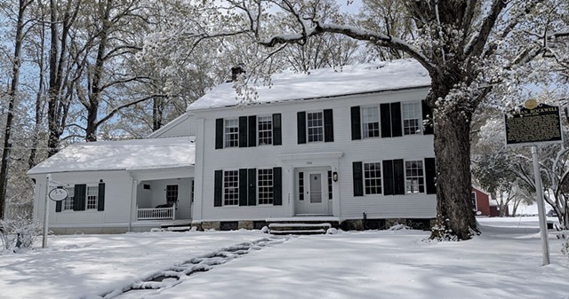 Rockwell's Retreat in winter - COURTESY OF ROCKWELL'S RETREAT