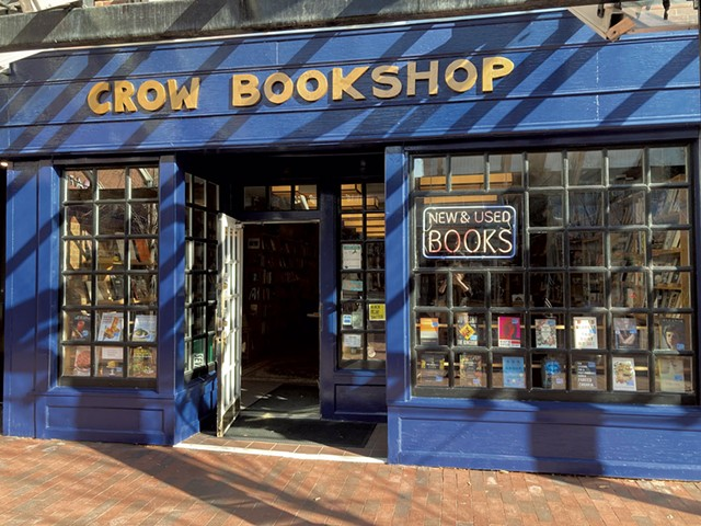 Crow Bookshop - MARGARET GRAYSON ©️ SEVEN DAYS