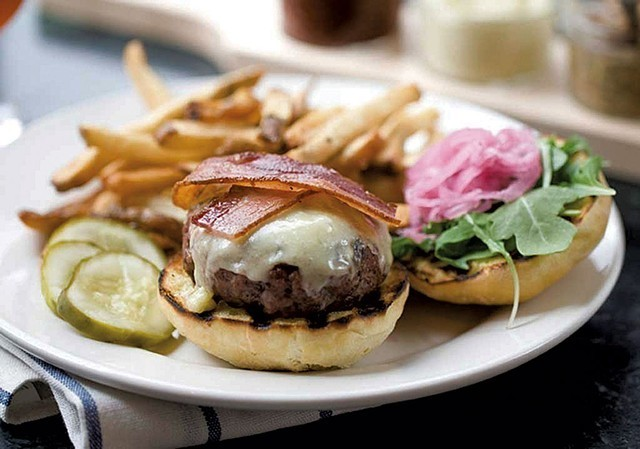 Farmhouse Tap & Grill cheeseburger - COURTESY OF FARMHOUSE TAP & GRILL