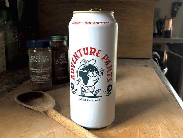 Zero Gravity Craft Brewery's Adventure Pants beer - JORDAN BARRY