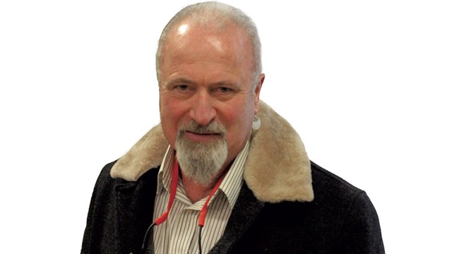 Greg Delanty - COURTESY OF SAINT MICHAEL'S COLLEGE
