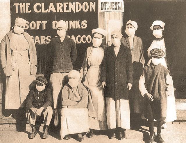 Scene from the 1918 pandemic - © SATORI13    DREAMSTIME