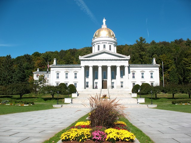 The Statehouse in Montpelier. - JEB WALLACE-BRODEUR