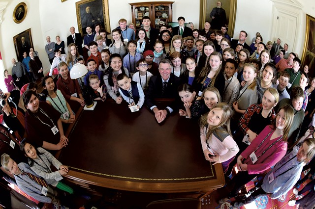 Good Citizen celebration at the Statehouse, May 2019 - FILE: JEB WALLACE-BRODEUR