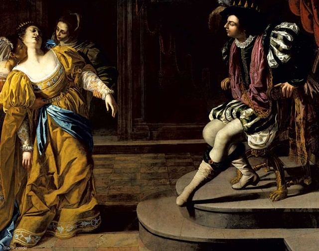 """Esther Before Ahasuerus, 1628-1635"" by Artemisa Gentileschi - ARTWORK COURTESY OF ERIKA GAFFNEY/METROPOLITAN MUSEUM OF ART"