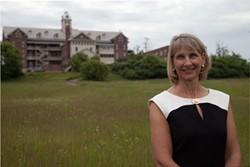 Former Burlington College president Christine Plunkett - FILE: MATTHEW THORSEN