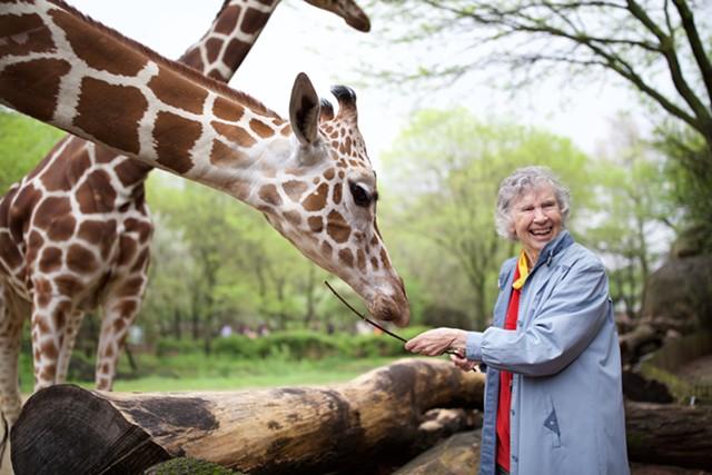 'The Woman Who Loves Giraffes' - COURTESY OF ELAISA VARGAS