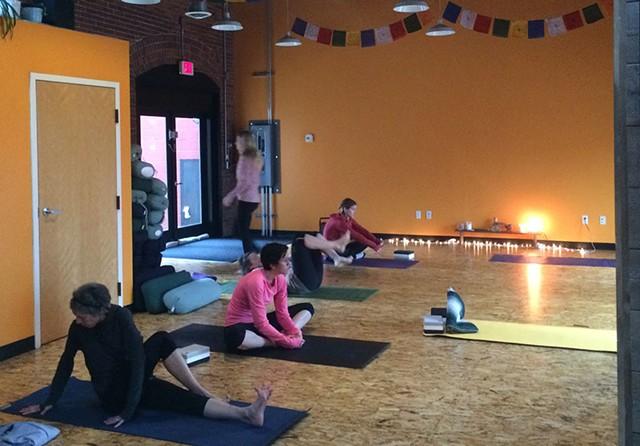 Sangha Studio, Burlington - ALICIA FREESE