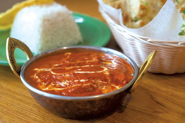 Chicken tikka masala at Indian-Nepali Kitchen - JEB WALLACE-BRODEUR