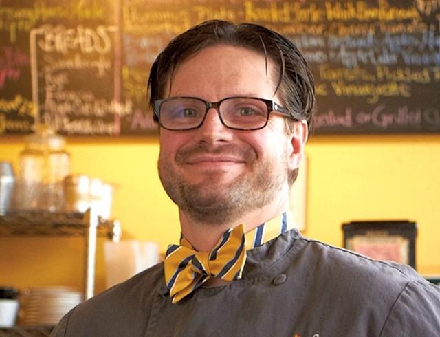 Matt Birong of 3 Squares Café