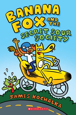 'Banana Fox and the Secret Sour Society' by James Kochalka - COURTESY OF GRAPHIX