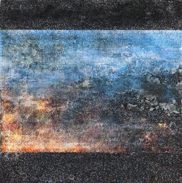Untitled mixed-media work by Ned Richardson - COURTESY OF NED RICHARDSON