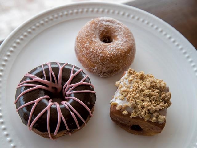 Doughnuts at Kru Coffee - JAMES BUCK