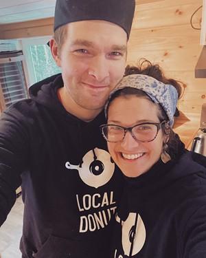 Nate Doyon and Nina Livellara of Local Donut - COURTESY OF LOCAL DONUT