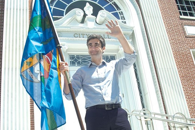 Burlington Mayor Miro Weinberger - FILE: MATTHEW THORSEN