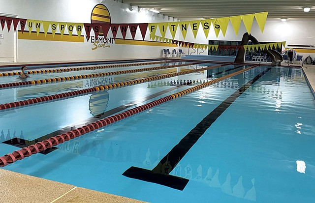 Pool at Vermont Sun - COURTESY OF STEVE HARE