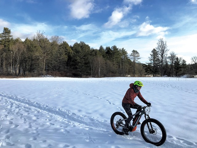 Fat biking with Vermont Bike & Brew - COURTESY OF VERMONT BIKE & BREW