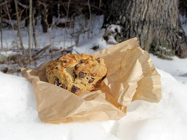 Breadloaf Kitchen chocolate-chip-pecan scone - MELISSA PASANEN