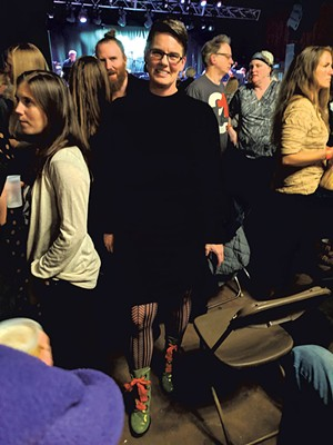 Jane Lindholm at the VSO concert - COURTESY OF JAY FURR