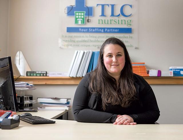 Katelynn Audette of TLC HomeCare - OLIVER PARINI