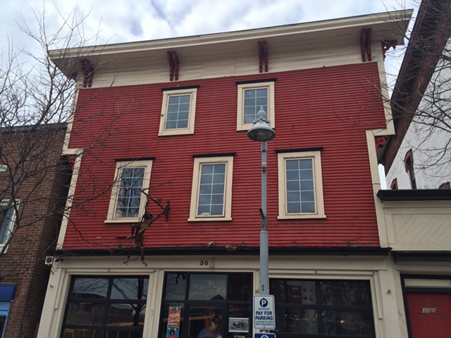 """30 Main Street, the site of the """"clandestine lab"""" - ALICIA FREESE"""