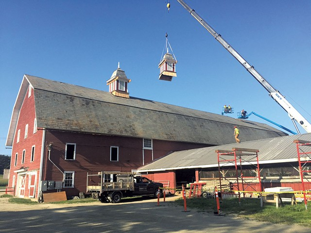 Conant's Riverside Farms in Richmond - COURTESY OF VERMONT DIVISION FOR HISTORIC PRESERVATION