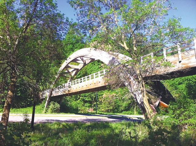 Burlington's bridge to nowhere.
