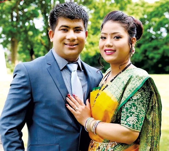 Jeetan Khadka and Shreepali Rajbanshi - COURTESY