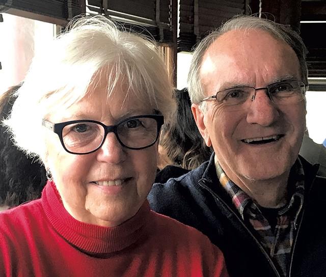 Carole and Tom Ziter - COURTESY