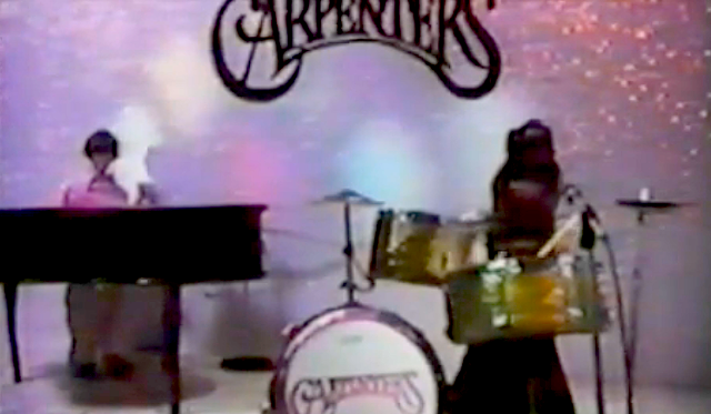 Plastic versions of the Carpenters in Superstar: The Karen Carpenter Story