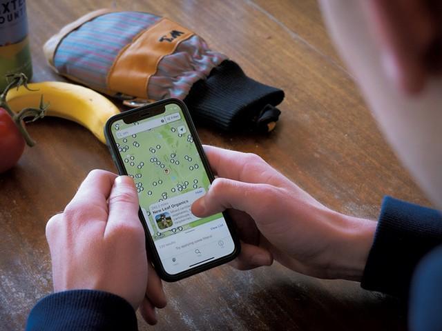 ACORN's Eat Local VT app - COURTESY OF ZACK EINHORN