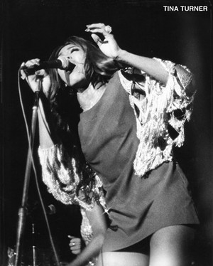 Tina Turner, October 9, 1971, at Curtis Hixon Hall - COURTESY OF RICK NORCROSS