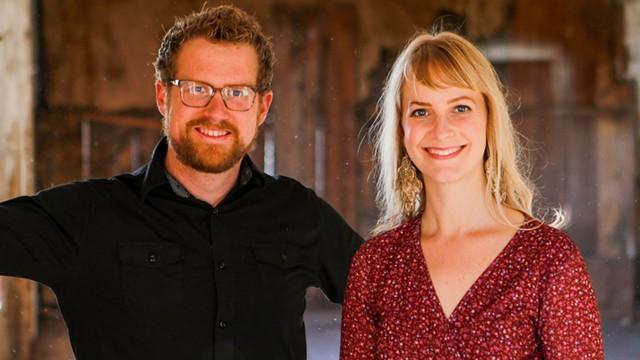 Evan Premo and Mary Bonhag - COURTESY OF EMBER PHOTO/SCRAG MOUNTAIN MUSIC