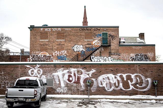 Former YMCA building - LUKE AWTRY