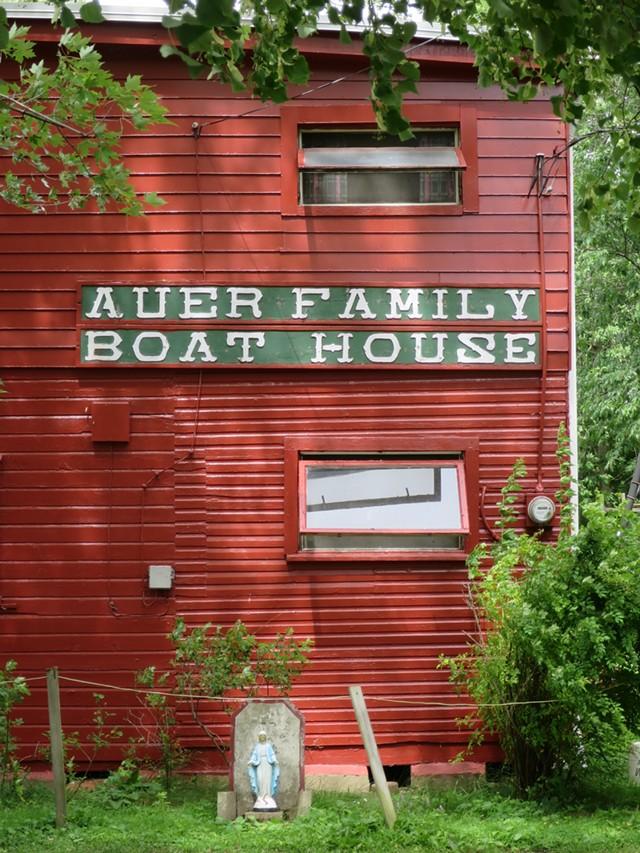 The boathouse - FILE: MATTHEW THORSEN ©️ SEVEN DAYS