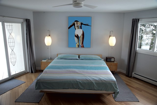 Non-rectilinear master bedroom - MATTHEW THORSEN